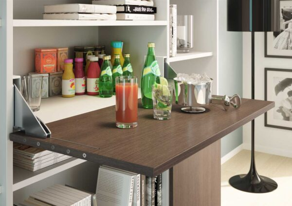 Desk – Drop-leaf foldaway desk