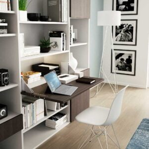 Desk – Drop-leaf foldaway desk