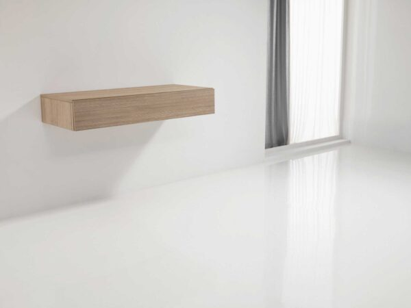 Mensola Party – Double-leg pull-out table from a drawer