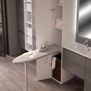 Prua Lift – Tilting ironing board with leg