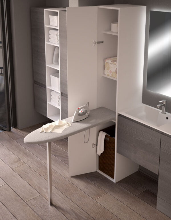 Prua Lift – Tilting ironing board with leg 2