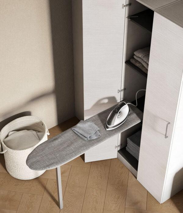 Prua Lift – Tilting ironing board with leg 3