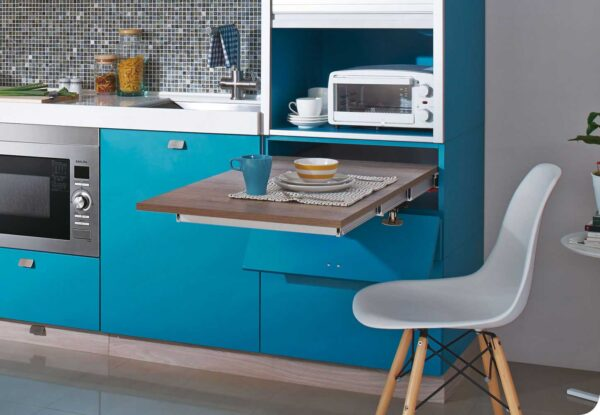Siesta – pull-out table from a drawer