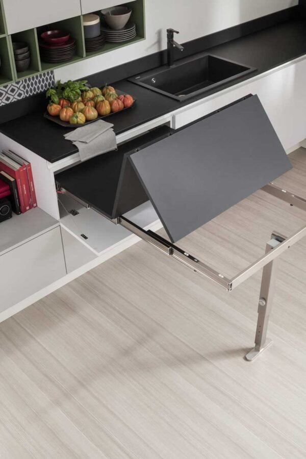 T-Able / T-Able XL – pull-out table from a drawer