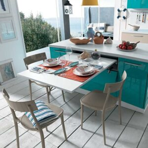 Brunch – pull-out table from a drawer