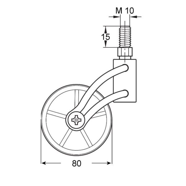 WHEEL CRISTAL WITH RUBBER RING 4